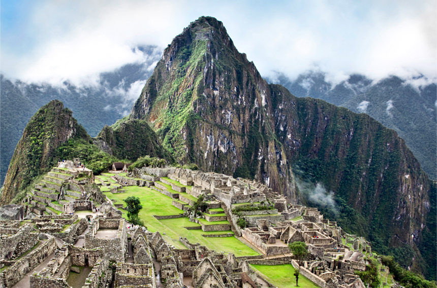 Machu Picchu - Stay overnight near this World Heritage site and awake to the early morning sun bathing the stones in an evocative light - the ideal time to explore, before the crowds appear.