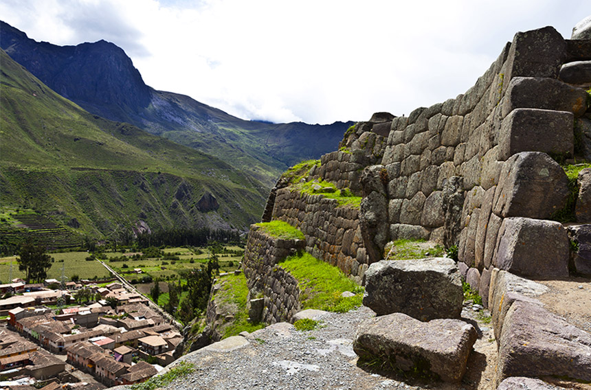 Sacred Valley - Observe a native ceremony and weaving demonstration and spend an afternoon at Ollantaytambo.