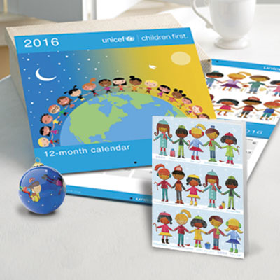 Buying UNICEF cards and gifts. By using UNICEF cards and gifts to celebrate special occasions with your family, friends and business partners, you are making a .