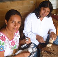 Artisan Profile: Zeny and Reyna – Mexican Folk Art Wood Carvings