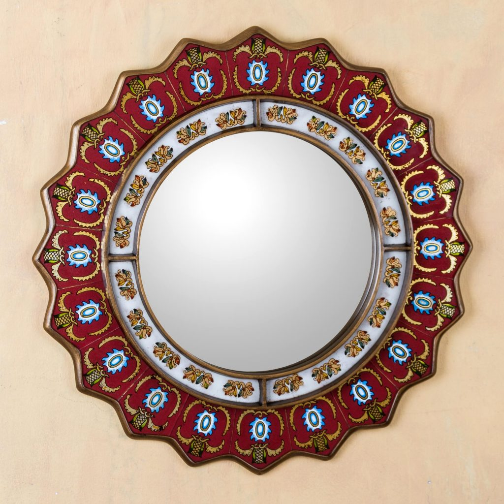 Choosing A Statement Mirror Unicef Market Blog: odd shaped mirrors
