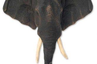 Animal Themed Thai Statue, 'Pride of the Elephant'