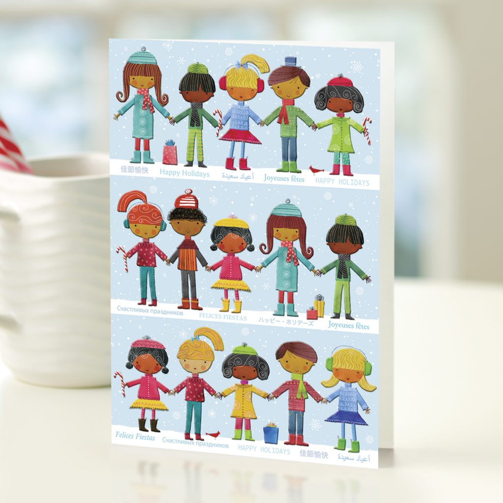 When you purchase UNICEF holiday cards at any IKEA US store, % of the proceeds from the sales of the cards go directly to the US Fund for UNICEF with IKEA donating an additional $1 per pack sold. The cards come in boxed choices, from 10 up to 20 cards per box and range in price from $$