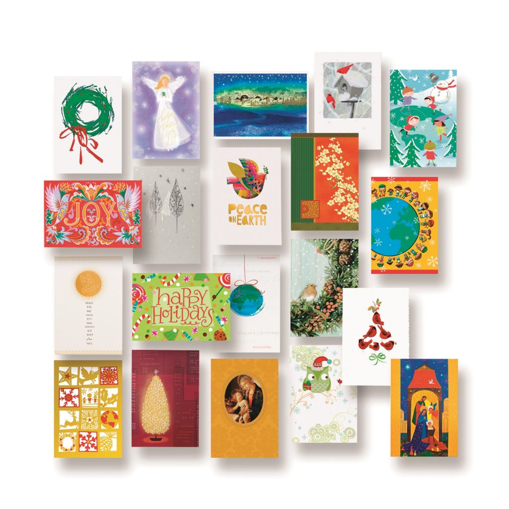 UNICEF Holiday Card Assortment (set of 20), 'Holiday Card Assortment' perfect greeting card