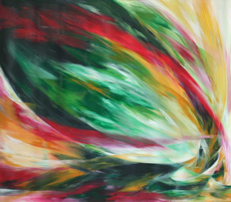 Expressionist Painting from Africa, 'Mutual Role' Selecting the Perfect Painting for your Home